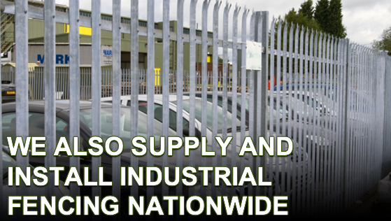 supply and install industrial fencing nationwide